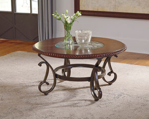 GAMBREY Traditional Round Coffee Table