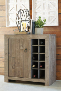 FORESTMIN Casual Wine Cabinet