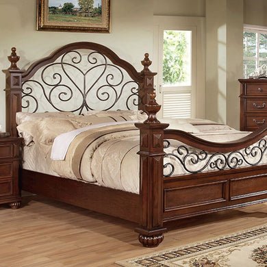 LANDALUCE Traditional Bed