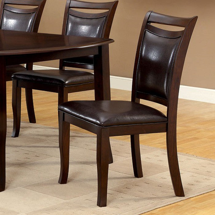 WOODSIDE Transitional Dining Chair (Set of 2)