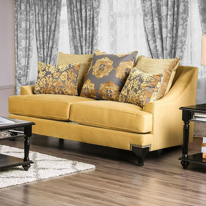 VISCONTTI Traditional Love Seat