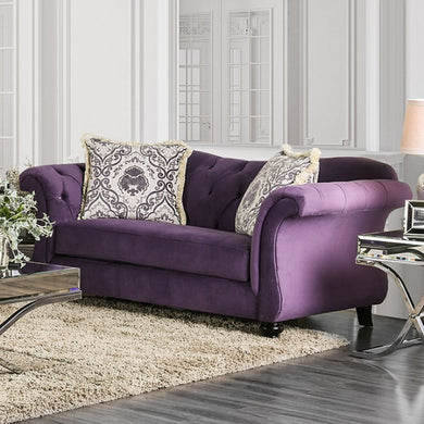 ANTOINETTE Traditional Love Seat