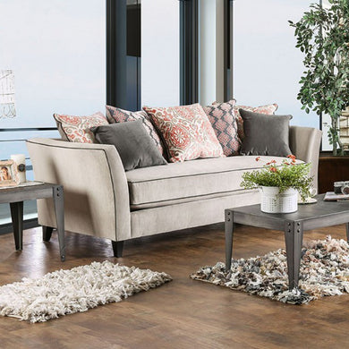 CHANTAL Transitional Sofa(Light Gray)