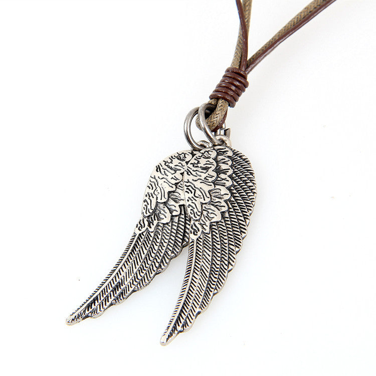 WingsForHope Leather Necklace