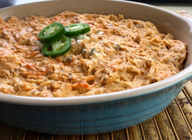 Spicy Buffalo Chicken Dip Recipe