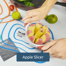 Load image into Gallery viewer, 100% food grade extra sharp 430 grade stainless steel blades Apple Slicer - Get Apple Slices With Few Press And Remove Core At Once