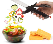 Load image into Gallery viewer, Get This 2 In 1 Multi-Function Kitchen Scissors Cutter For FREE - Just Pay $7.98 Shipping - Limited Stock