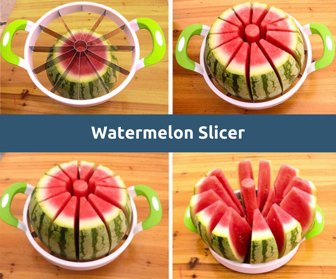Watermelon Slicer - Slices Watermelon, Melon, Apple, Pear
