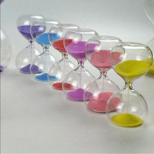 Colored 3 Minute Sand Glass Timer