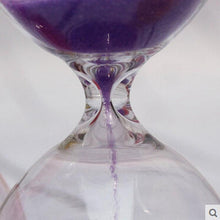 Load image into Gallery viewer, Colored 3 Minute Sand Glass Timer