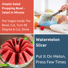 Load image into Gallery viewer, The Fruits, Salads Prepping Bundle - Basic - 6 Prepping Tools. Prep Fruits, Salad in Seconds!