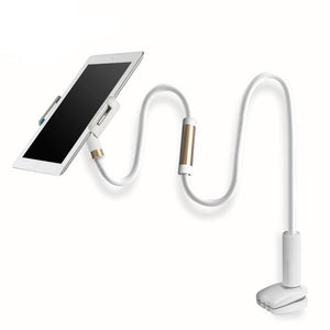 360 Degree Rotate 100CM Flexible Long Arm Phone Tablet Stand Holder - Watch Videos Without Holding Phone/Tablet Whole Time