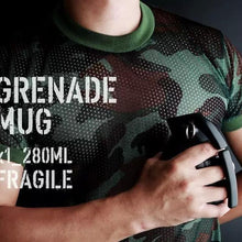 Load image into Gallery viewer, Grenade Shaped Coffee Mugs - 280ml - Special Cup
