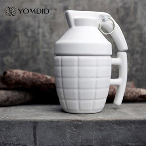 Grenade Shaped Coffee Mugs - 280ml - Special Cup