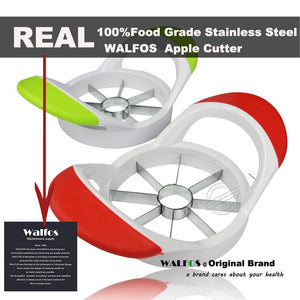 100% food grade extra sharp 430 grade stainless steel blades Apple Slicer - Get Apple Slices With Few Press And Remove Core At Once