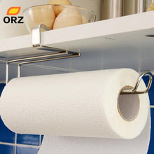 Load image into Gallery viewer, Kitchen Paper Holder Hanger Tissue Roll Towel Rack Bathroom Toilet Sink Door Hanging Organizer Storage Hook Holder Rack