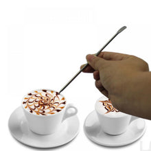 Load image into Gallery viewer, 1Pc Useful Stainless Steel Barista Cappuccino Latte Espresso Coffee Decorating Pen Art Household Kitchen Cafe Tool