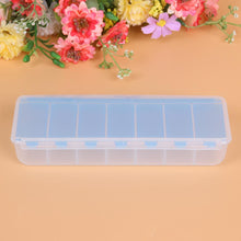 Load image into Gallery viewer, Large Pill box Travel Pill Cases 7 Compartment Holder Convenient Jewelry Storage   Medicine Box Drugs Pill Container