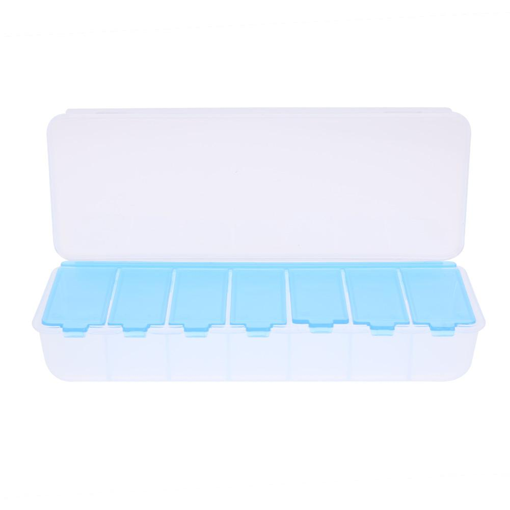 Large Pill box Travel Pill Cases 7 Compartment Holder Convenient Jewelry Storage   Medicine Box Drugs Pill Container