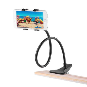 360° 70cm Long Arm Smartphone Holder - Watch Videos Without Holding Phone Whole Time