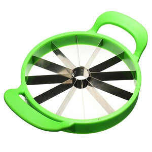 21cm Stainless Steel Melon Watermelon Cantaloupe Slicer Cutter With Patent Fruit Slicer Tool