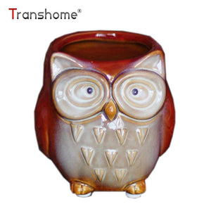 Cartoon Owl Mugs 300ML Without Handgrip Cute Animal Owl Coffee Cup Ceramic Milk Tea Cups Funny Gift