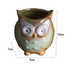 Load image into Gallery viewer, Cartoon Owl Mugs 300ML Without Handgrip Cute Animal Owl Coffee Cup Ceramic Milk Tea Cups Funny Gift