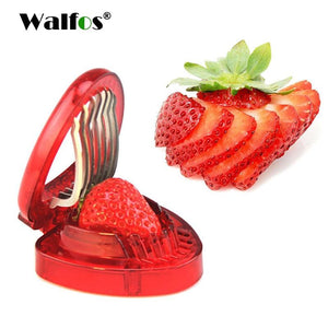 100% Food Grade Strawberry Slicer - Get Strawberry Slices With A Press