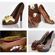 Load image into Gallery viewer, WALFOS Fondant High Heel Shoe Chocolate Mold Baking DIY 3D Stereo Lady's Shoes Candy Mould Sugar Paste Mold For Cake Decoration
