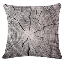 Load image into Gallery viewer, Beautiful Long Wood Picture Linen Cushion Sofa Pillow