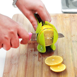 Get This Handy Plastic Tomato, Lemon, Potato Cutting Holder For FREE - Limited Stock - Just Pay S&H