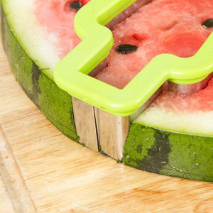 Ice Cream Shape Stainless Steel Watermelon Slicer