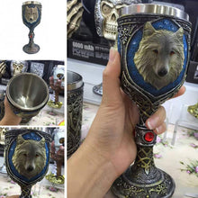 Load image into Gallery viewer, Stainless Steel Wolf 400ml Drinking Cup - Great Gift Idea