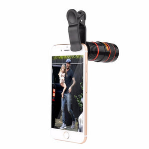 Camera Telescope lens for iPhone 6 6s 8X Zoom Telephoto Camera Lens with Clip for Samsung HTC and Other smartphone
