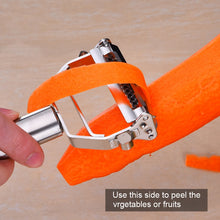 Load image into Gallery viewer, Food Grade Stainless Steel Multi-Purpose Peeler & Julienne Cutter / Peeler / Grater