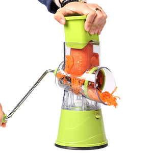 Multifunctional Manual Rolling Vegetable Cutter & Slicer
