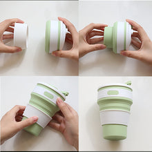 Load image into Gallery viewer, BPA-Free Retractable Travel Coffee Cup