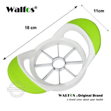 Load image into Gallery viewer, 100% Food Grade Extra Sharp 430 Grade Stainless Steel Blade Apple Slicer