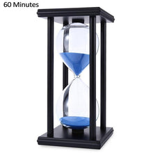 Load image into Gallery viewer, Modern Wooden 60 Minutes Hourglass Sand Timer Hour Glass