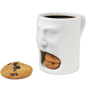 Creative Coffee Mug With Biscuit Pocket Mugs Ceramic Breakfast Milk Afternoon Tea Mugs For Home Office Drinkware Cups