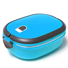 Load image into Gallery viewer, Vacuum Seal Stacking Insulated Lunch Box Stainless Steel Thermal Insulation Bento Box Dual Handle Container