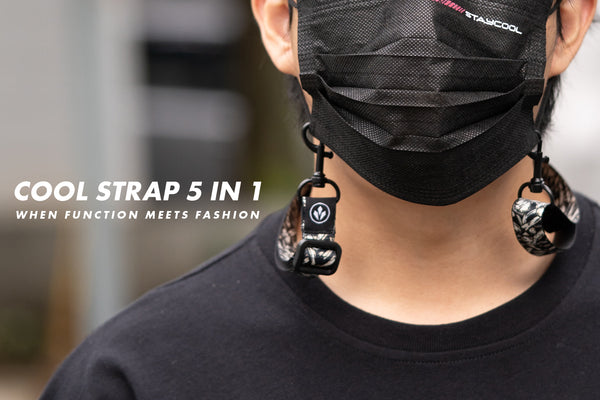 Cool Strap 5 in 1:  when function Meets Fashion