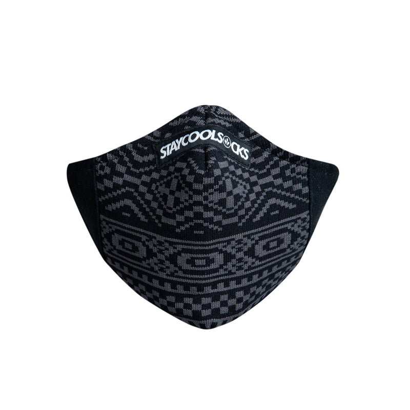 COOL MASK 3 PLY KNIT 'TRIBAL'