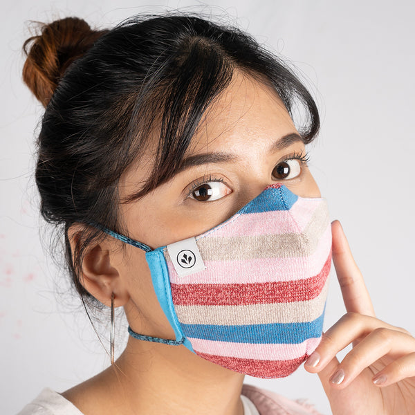 COOL MASK WOMEN KNIT 3 PLY 'ATTRACTIVO'