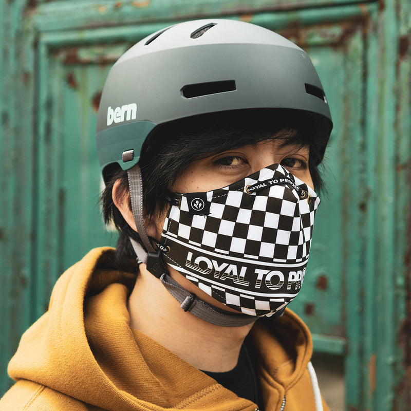 COOL MASK 'LTP (CHECKERED)'