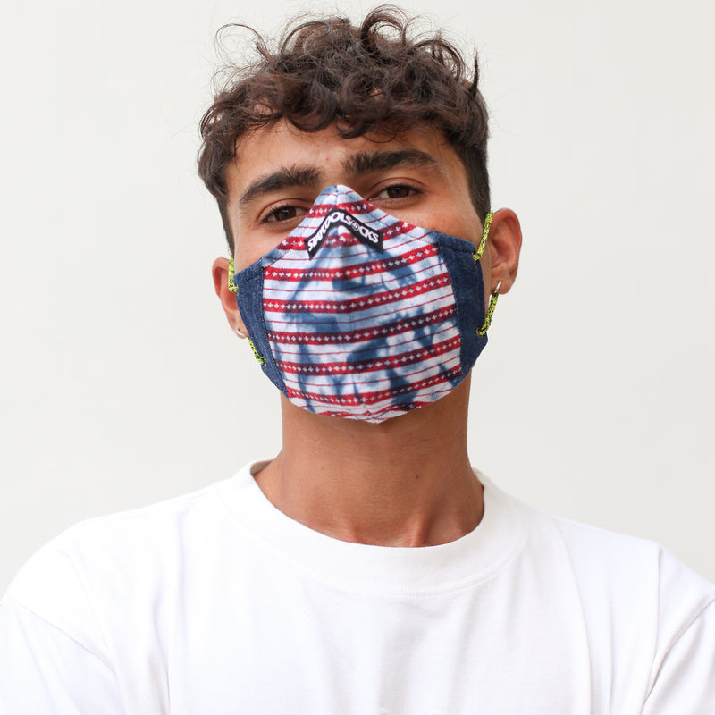 COOL MASK 3 PLY KNIT 'RAID'