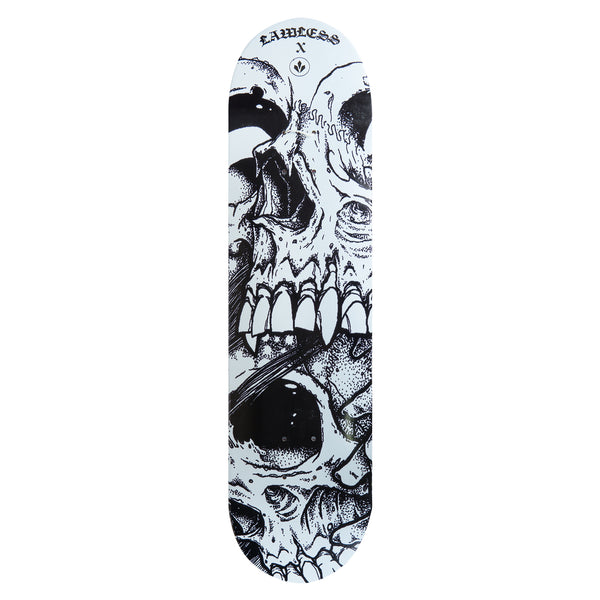 "STCL X LAWLESS SKATEBOARD DECK 8"" - LA MORT"