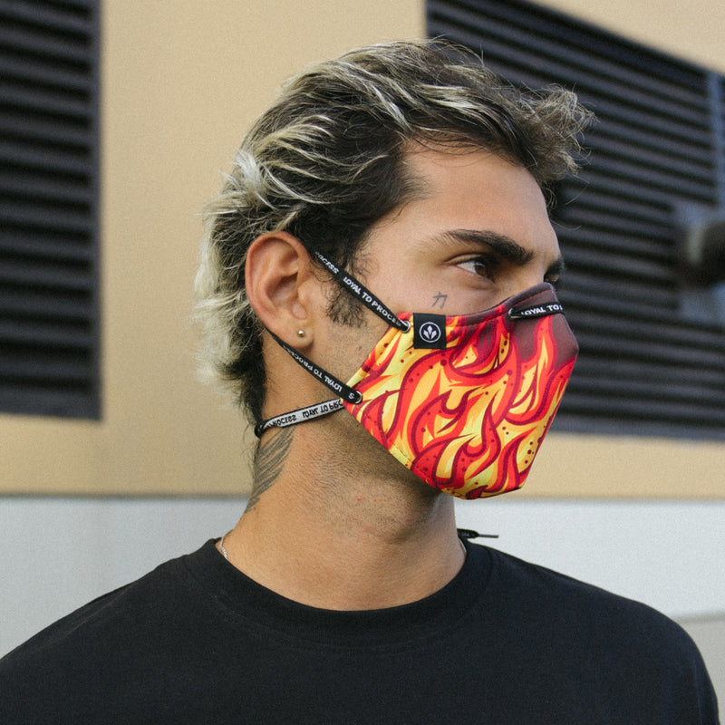 COOL MASK 'MIGHTY FLAME'