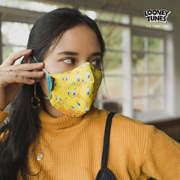 COOL MASK 'LOONEY TUNES WOMEN 3 PCS'