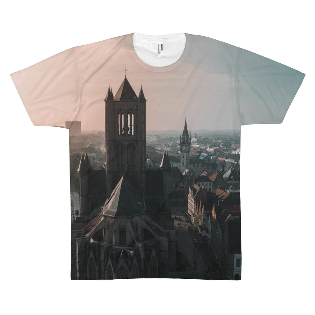 Medival Europe Allover Print Tee
